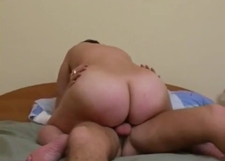 Real amateur incest between a son and mom