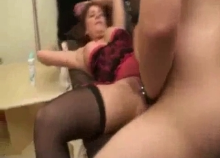 My mommy handles a dick like a pornstar
