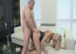Awesome doggy style fuck session with a sister