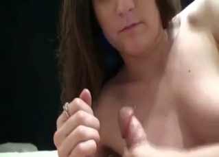 Bitchy brunette sister enjoys filthy incest sex
