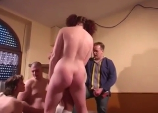 Filthy family is enjoying perverted incest sex
