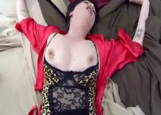 Perfect MILF fucks with her own son
