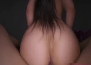 POV incest sex with my big-boobed sister