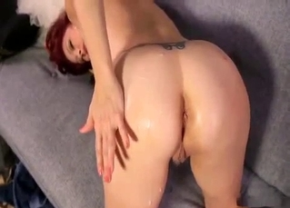 Redhead stepmom sensually sucks my wiener